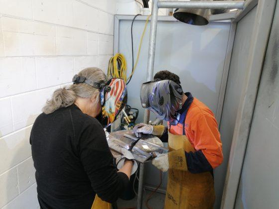 Beginner welding courses with MTL